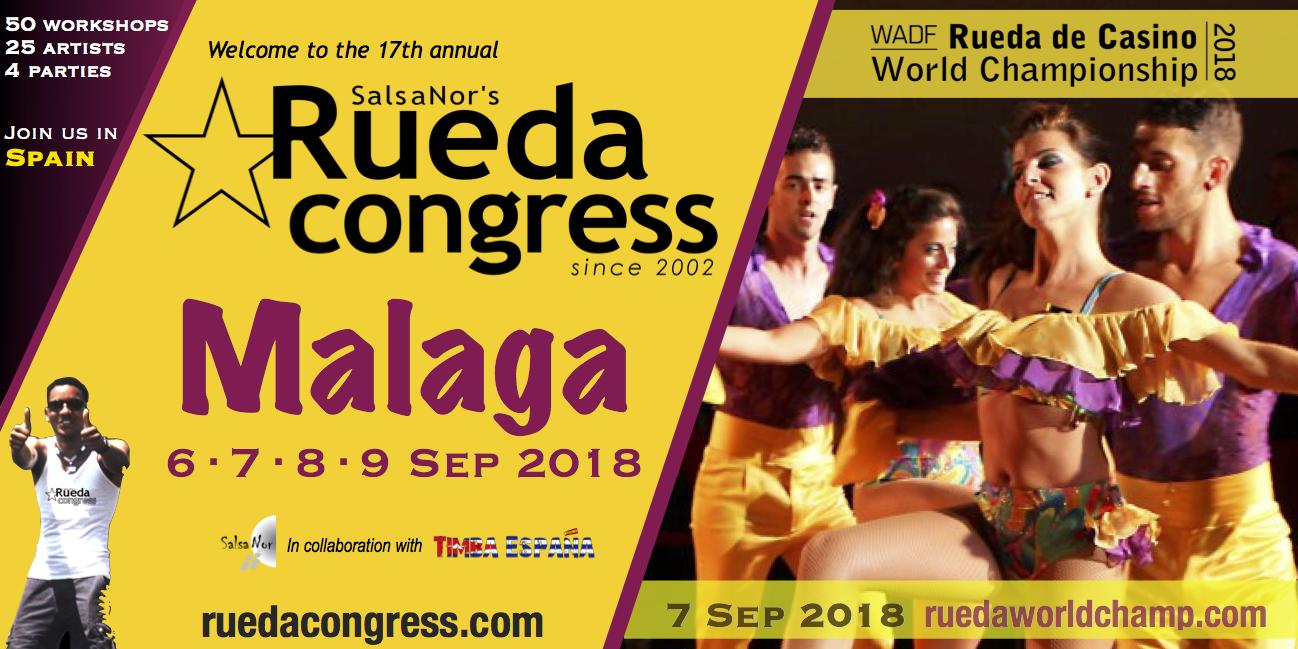 Malaga, Spain – Sep 7th 2018!